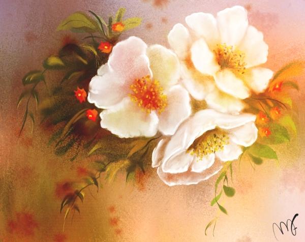 Flor del almendro_vista